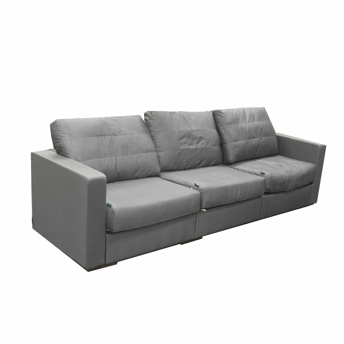 Sectional Couch 3 Seats + 5 Sides - Floor Model in Box - Grey | eBay...