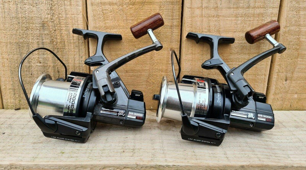 Ad - Daiwa SS3000 Original Reels x2 On eBay here --> https://t.co/w60yb5nwwc  #carpfishing #fishi