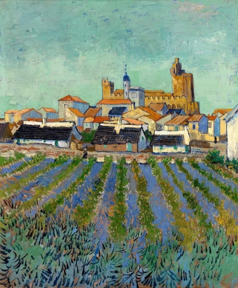Vincent Van Gogh Saintes Mariés de la Mer https://t.co/U3pX3X9Lhe