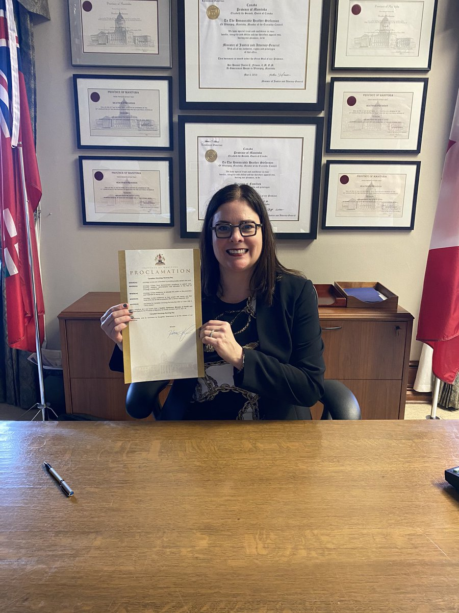 test Twitter Media - Pleased to proclaim April 6, 2021 as Canadian Oncology Nursing Day. Our government recognizes the commitment from our oncology nurses to provide quality cancer care for their patients.  Thank you for all that you do to help Manitoba families who are affected by cancer. https://t.co/rxtZ6ZtbGh