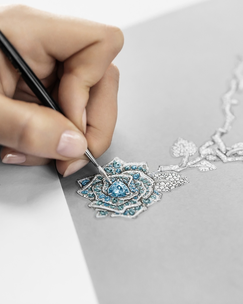 Diorの4月7日のツイッター画像