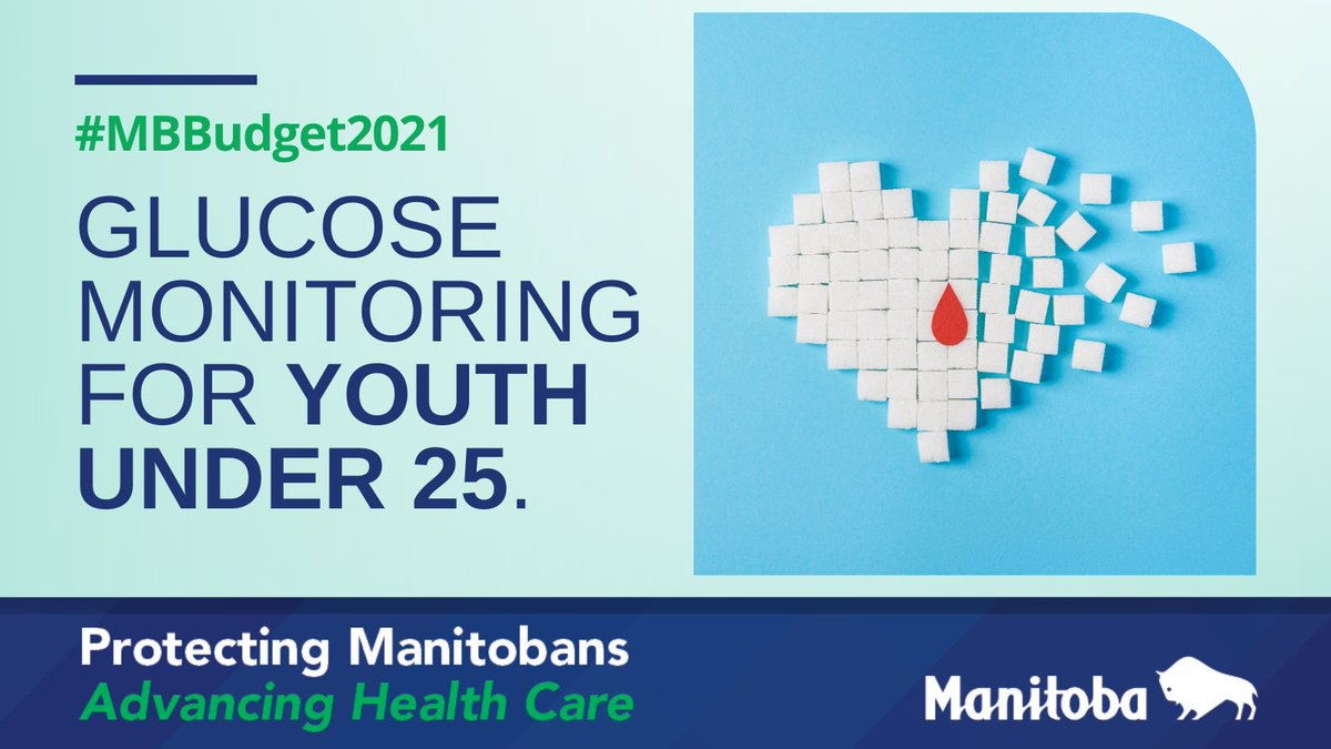 test Twitter Media - BUDGET2021 is #ProtectingManitobans by covering continuous glucose monitoring devices for eligible children and youth under the age of 25. We're also expanding the insulin pump program to age 25 to support more people with Type 1 diabetes. https://t.co/YvDAH7mALj
