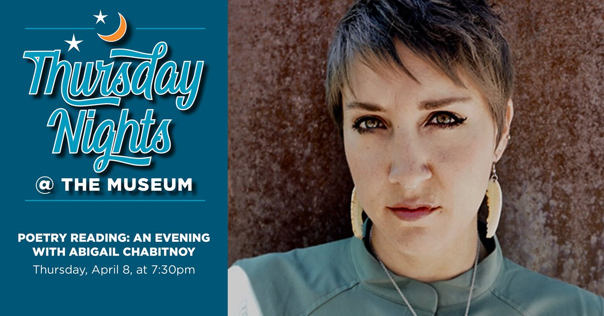 test Twitter Media - Join Abigail Chabitnoy, for a reading of her work at the Longmont Museum and Cultural Center. You can tune in to this event on Longmont Museum's Facebook LIVE, https://t.co/mPKgTol71W or Local Comcast Channel 8/880.  #AbigailChabitnoy #Howtodressafish #Poetryreading #poems https://t.co/31CnVgEhDb