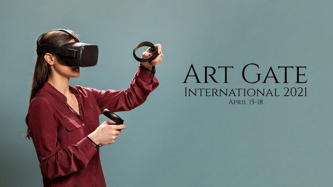 We are excited to collaborate with @artgatevr! @EducatorsVR join us for a guided tour Of Art Gate - Sat, April 17th, 5-6pm EST - during their AGI 2021. The tour will be guided by 6 MFA and PhD students from the Dept of Art and Art History at York University. #artinvr #vrart https://t.co/3Fb0rRAYld