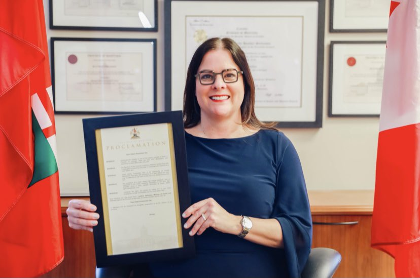 test Twitter Media - Pleased to proclaim April 9 2021 as Heart Attack Awareness Day in Manitoba.  I commend the Manitoba Acute Coronary Syndrome Network for their dedicated work to improving outcomes of individuals who experience a heart attack. It's important to raise awareness & recognize the signs https://t.co/DBxnEC0oe3
