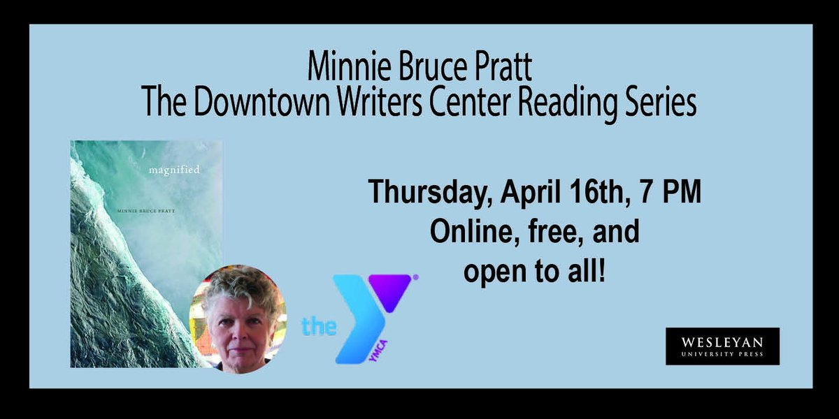 test Twitter Media - Minnie Bruce Pratt @ Downtown Writers Center! Virtual Event: Friday, April 16th at 7 PM ET.  https://t.co/xAUY6uTD3W #MinnieBrucePratt #Magnified #YMCA #virtualreading #onlineevent #QueerPoets #Grief #Coping #Caregiver #Disability #WorkingClass #QueerLove https://t.co/B8XTQDJGQK
