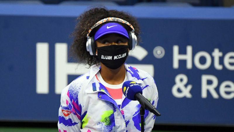 test ツイッターメディア - あのエンディング、昨年の全米オープンでの大阪なおみ選手のマスクを思い出した人も多いのでは。 https://t.co/2olHiwKrB1