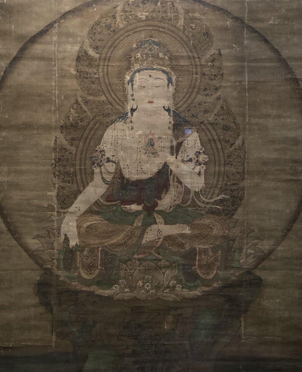 test ツイッターメディア - 明日までの展示、国宝虚空蔵菩薩像。これ観に行ってきました久しぶりの東京国立博物館トーハク。 https://t.co/gckwkbEAQG