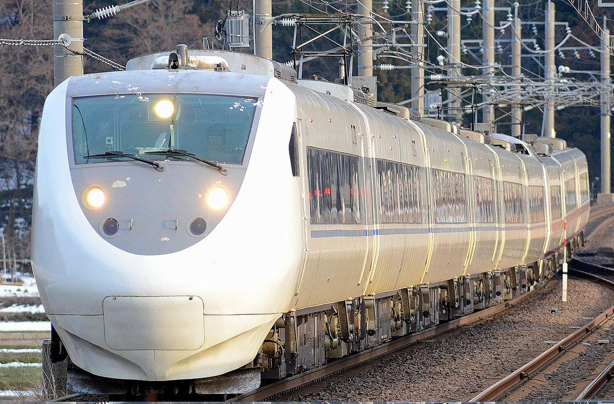 test ツイッターメディア - 8JR西日本681系電車 https://t.co/4dh6ytPmkg