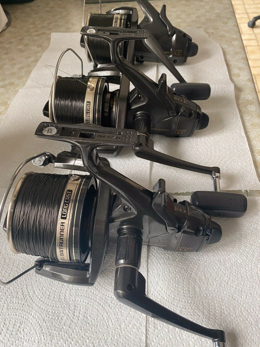 Ad - Shimano Big Baitrunner Long Cast Reels On eBay here --> https://t.co/Decya5hJoo  #carpfishin