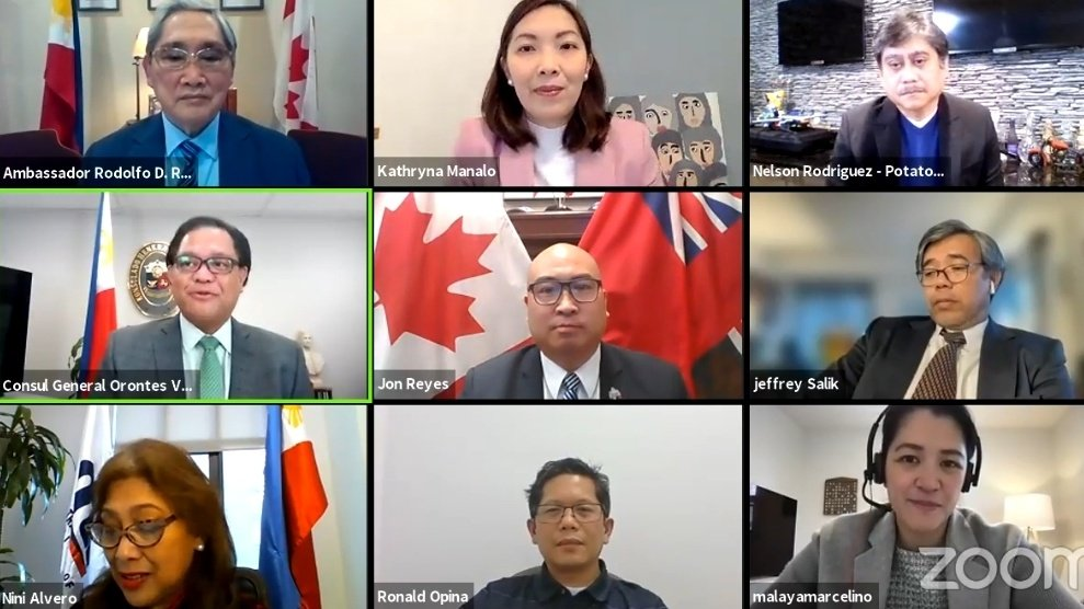 "test Twitter Media - Over 60 plus participants on last night's Zoom-based webinar entitled ""Mag-Negosyo sa Pilipinas"" hosted by @PHinToronto in cooperation with the Philippine Trade and Investment Center - Toronto. Happy to participate as a panelist. Thank you again for having me. https://t.co/2VANlu9sOJ"