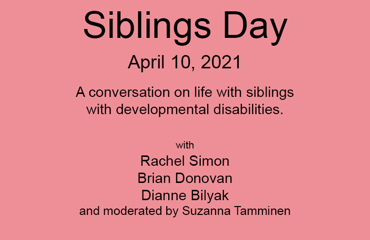 "test Twitter Media - ""Siblings Day: Life with Siblings with Disabilities."" The event is now available here: https://t.co/Vek6SKGANY via @YouTube  @GDSFoundation @MyDSACT @DSAInfo #NationalSiblingsDay #downsyndrome #siblingsupport #caregiver https://t.co/F5KLPNkW6H"