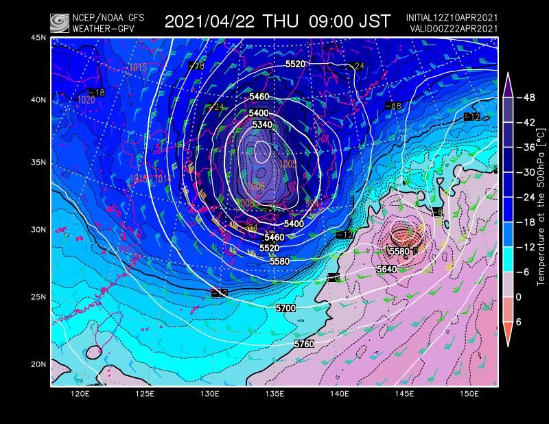 test ツイッターメディア - 【#台風2号候補】アメリカNOAAだけでなく、気象庁GSM(全球予報モデル)や欧州ECMWFも日本の南で台風2号候補がかなり発達する予想で揃ってきた。まだ非常に不確実とはいえ、NOAAは寒冷渦と藤原効果に似た相互作用で北日本に接近し、冬型気圧配置になる予想。今後の情報を監視したい。 https://t.co/fyDs2XHmeJ