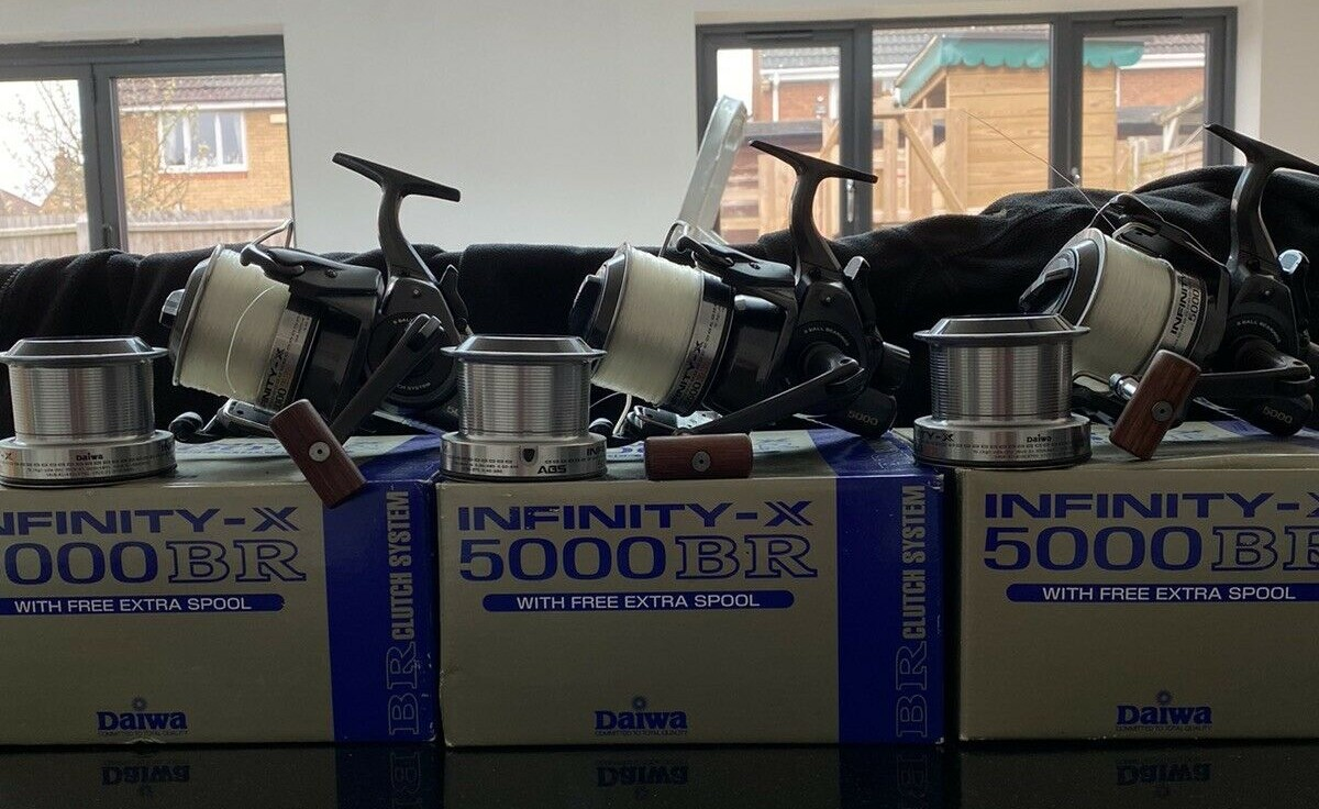 Ad - Daiwa Infinity XBR <b>5000</b> x3 On eBay here --> https://t.co/moMWPsb7CY  #carpfishing #fi