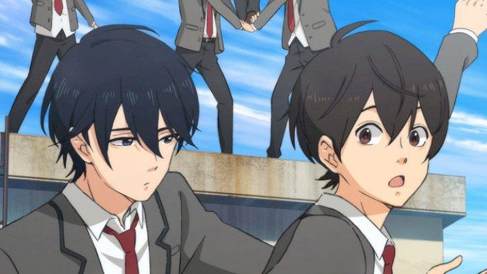 the eyes, boy, they never lie❤️💙 #bakuten #bakutentwt #bakutenrp #anitwt #anime #spring #yaoi #gay #shoutarou #MISATO #eyes #gymnastics