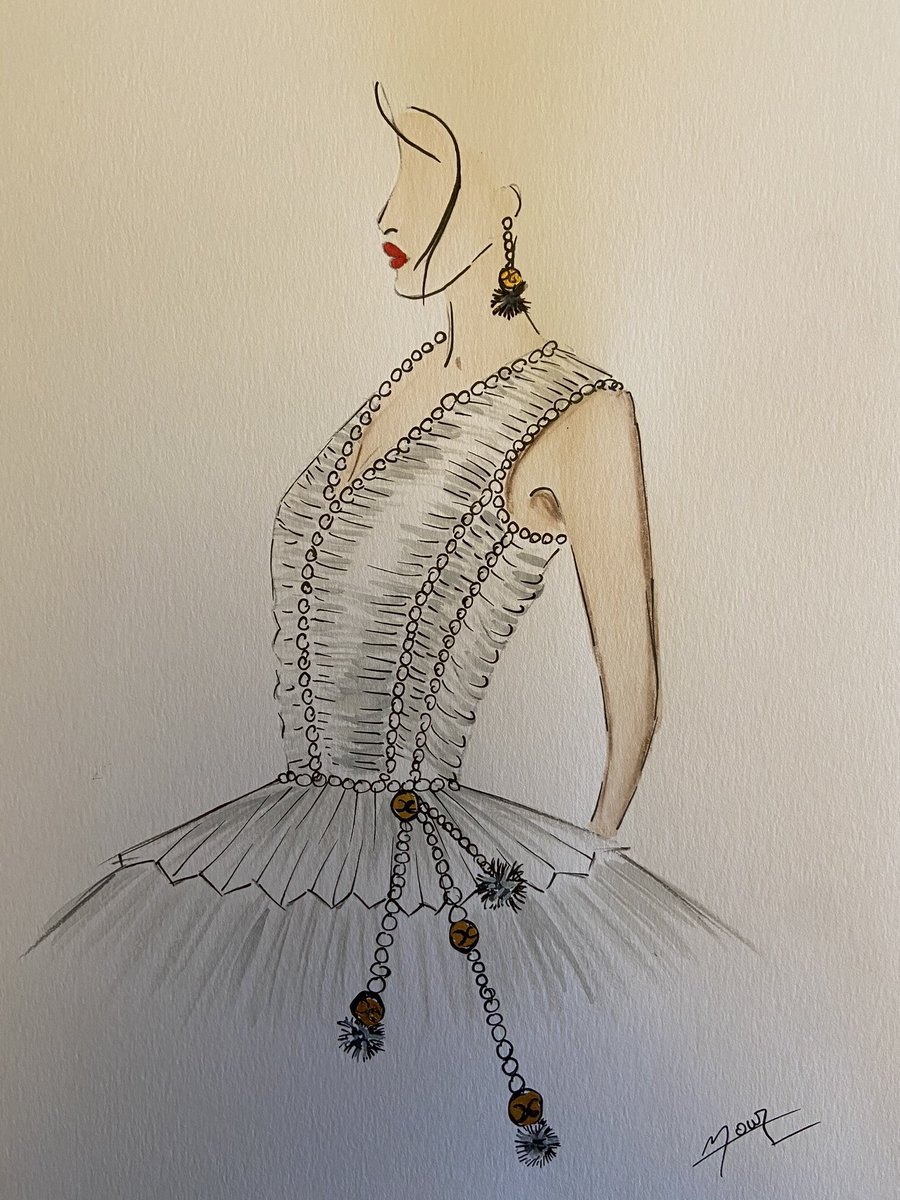 BOU TANOUS FASHION HOUSE- FASHION ILLUSTRATION SPRING 2021. #fashion #style #stylish #love #me #cute #photooftheday #nails #hair #beauty #beautiful #instagood #pretty #swag #pink #girl #eyes #design #model #dress #shoes #heels #styles #outfit #purse #jewelry #shopping
