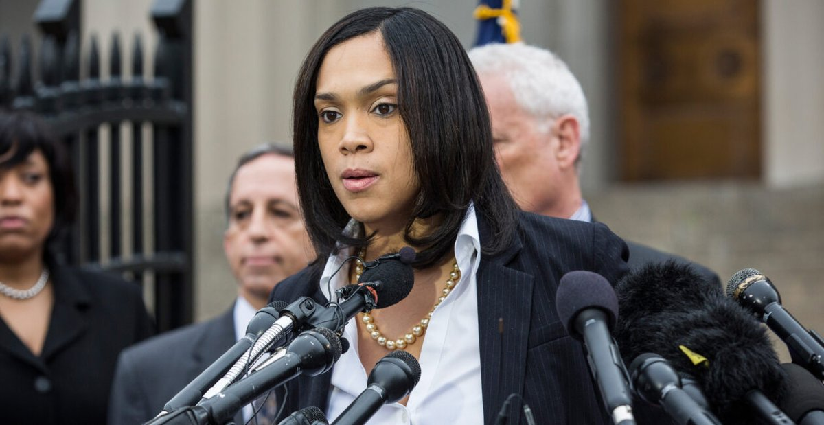 Baltimore's Rogue Prosecutor Mosby Facing 3 Probes of Official Duties, Travel, Gifts