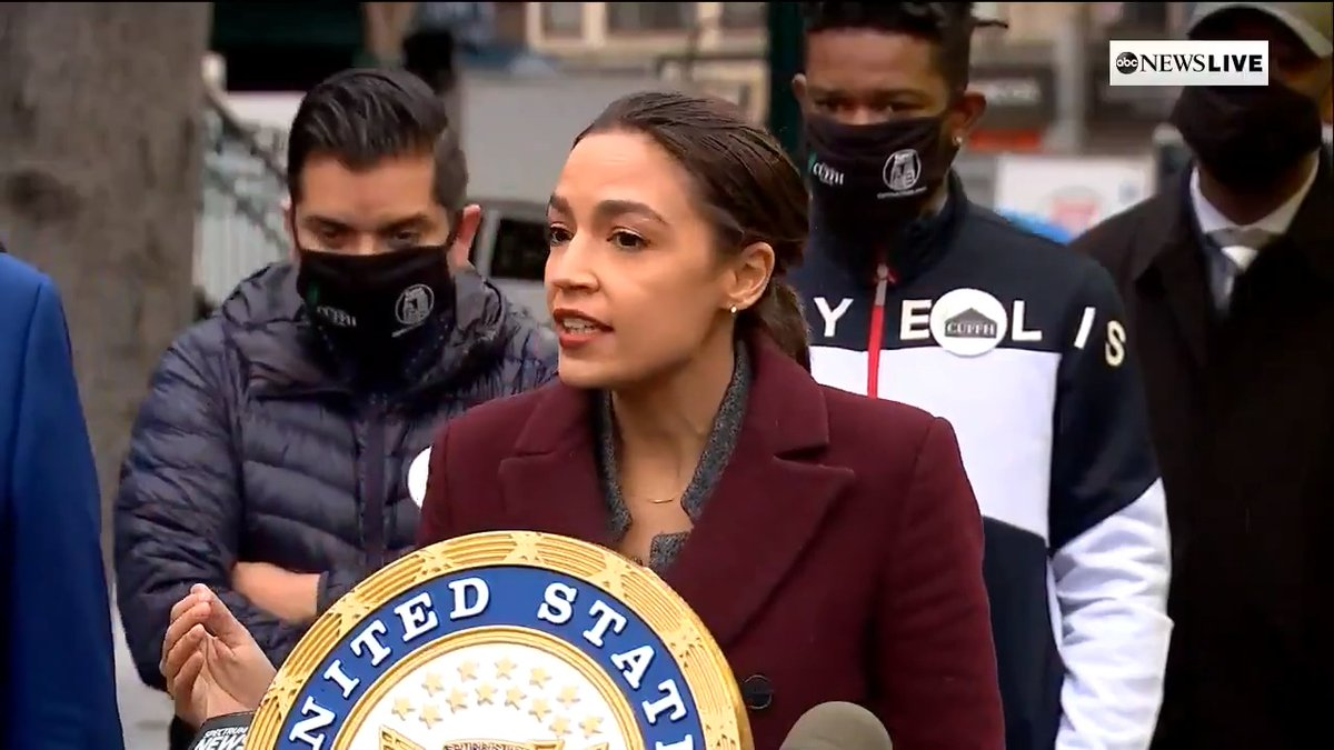 ".@SenSchumer & Rep. @AOC launch FEMA hotline to help low-income residents impacted by COVID with funeral costs.  ""We couldn't even get tests here early on — it was something that was for celebrities and the privileged."""