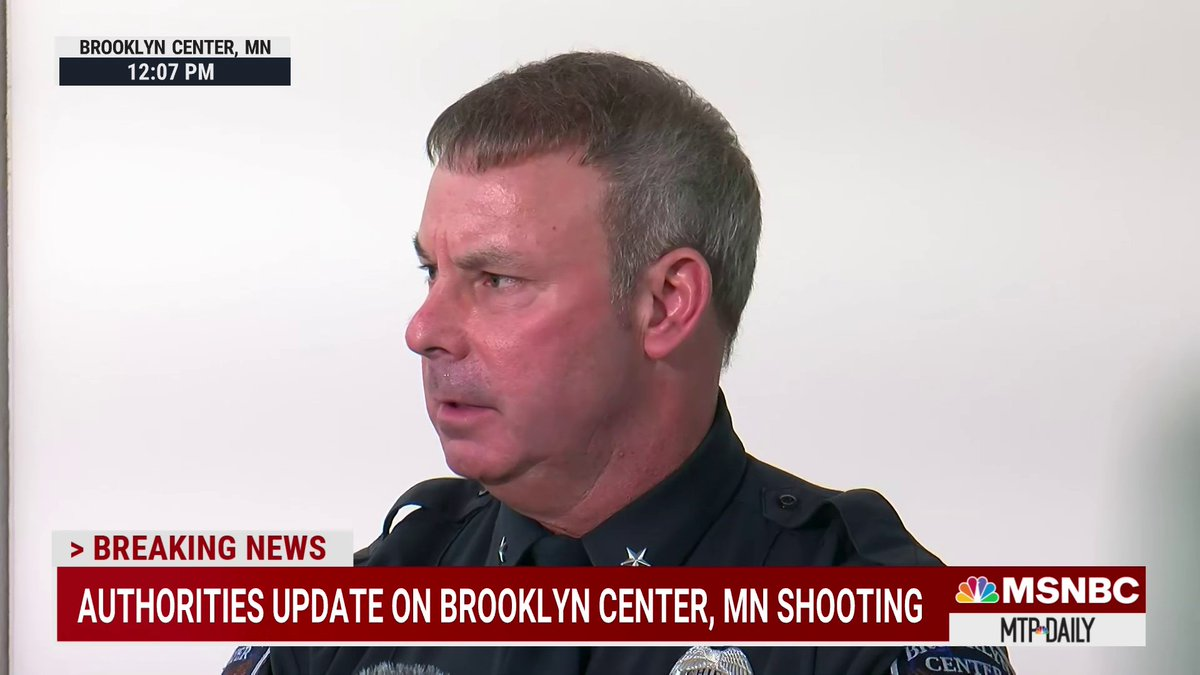 Minnesota Police Chief Tim Gannon says he has asked for an independent investigation into the Daunte Wright shooting, officer involved in shooting currently on administrative leave.