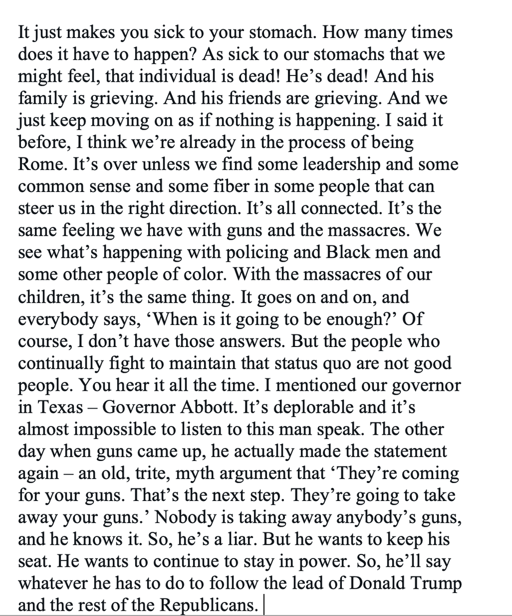Spurs coach Gregg Popovich on the Daunte Wright shooting, gun violence and the state of American politics