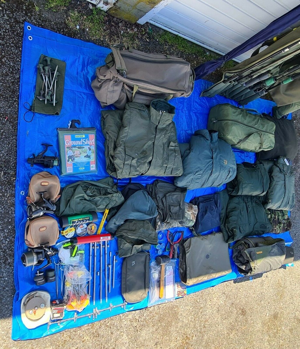 Ad - Complete Fishing Set Up For Sale On eBay here -->> https://t.co/MO6ihpiOCL  #carpfishing