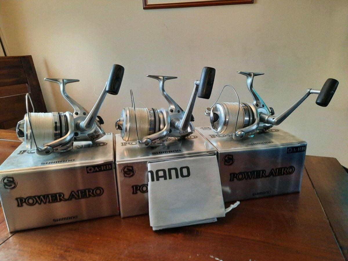 Ad - 3x Shimano Power Aero 10000 XT On eBay here -->> https://t.co/yauWxkf8eT  #carpfishing #f