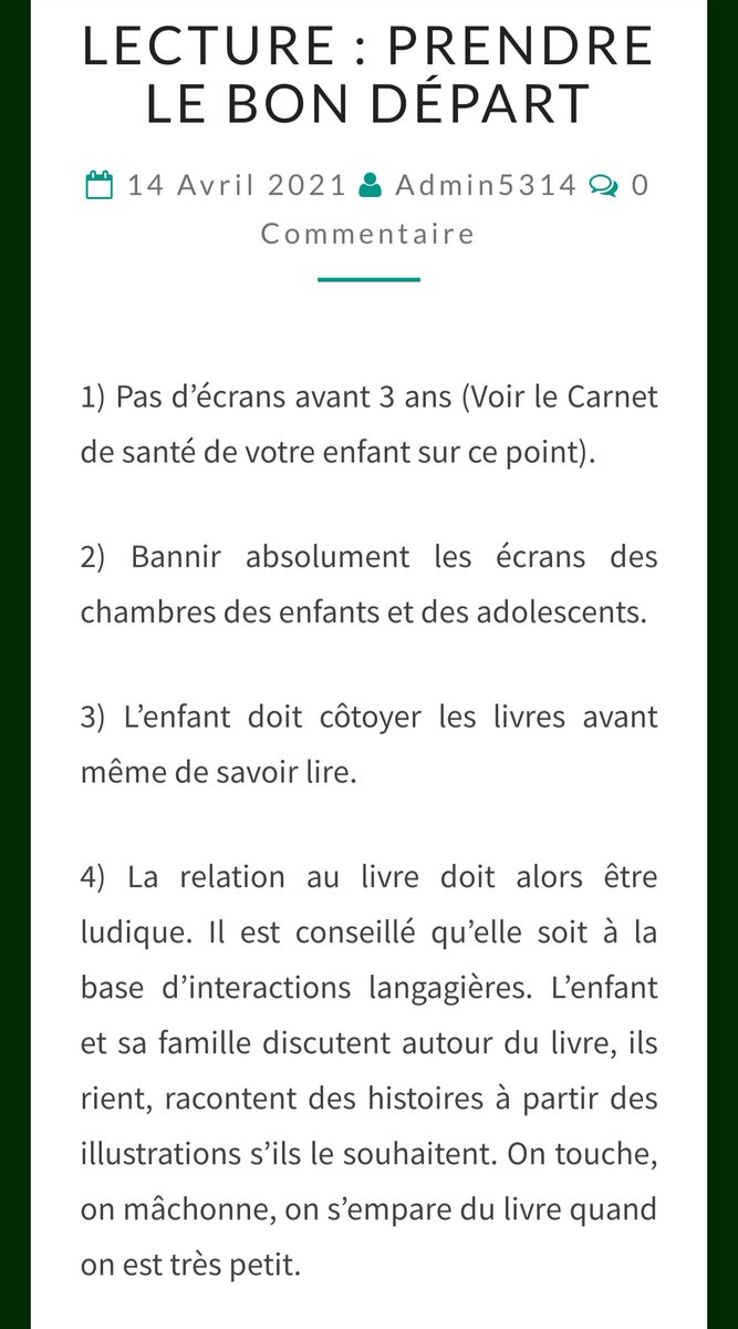 test Twitter Media - #enfants  #lecture #livres #ecrans #ordinateur Quelques conseils ⬇️ https://t.co/HizTaE3yVK https://t.co/JpafXwBJBF