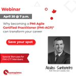 Free Webinar: The PMI-ACP® Certification and How It Can Help Your Career https://t.co/jE0Oi4ZCAr https://t.co/8hPFmoNLDq