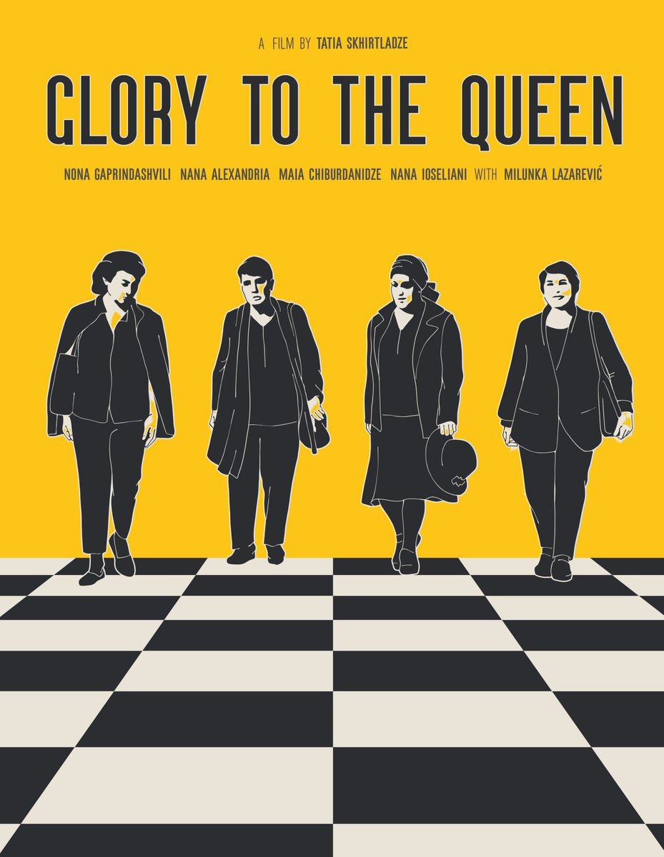test Twitter Media - One of the early presents, to them and to all of us, is the documentary GLORY TO THE QUEEN, by Tatia Skhirtladze, that premiered at CineDoc Tbilisi in September 2020, and is now on tour around the world, screening at festivals.  Trailer: https://t.co/zUUW4XjADK https://t.co/DcQF3aJYBU