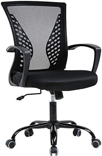Vnewone Ergonomic Office Home Cheap Desk Rolling Computer Gaming Mesh...