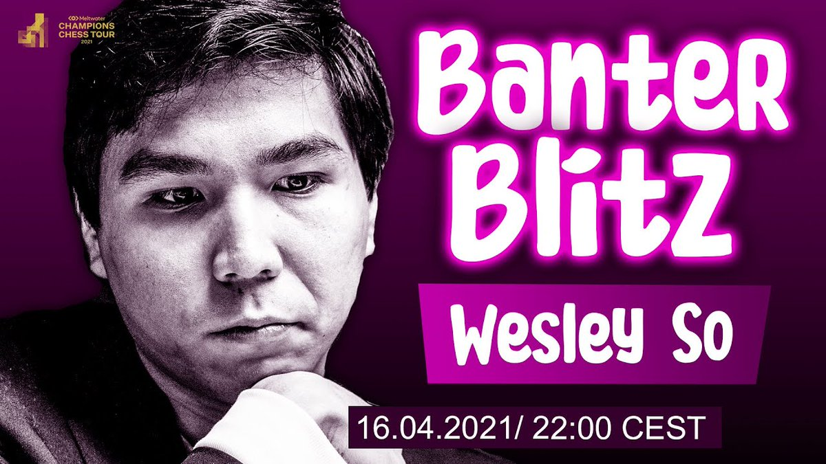 test Twitter Media - Finally, at 22:00 CEST, @opera presents Banter Blitz with GM Wesley So!  Challenge Wesley here: https://t.co/ptkOjhBrEW #ChessChamps #opera https://t.co/noB7zm8u8G
