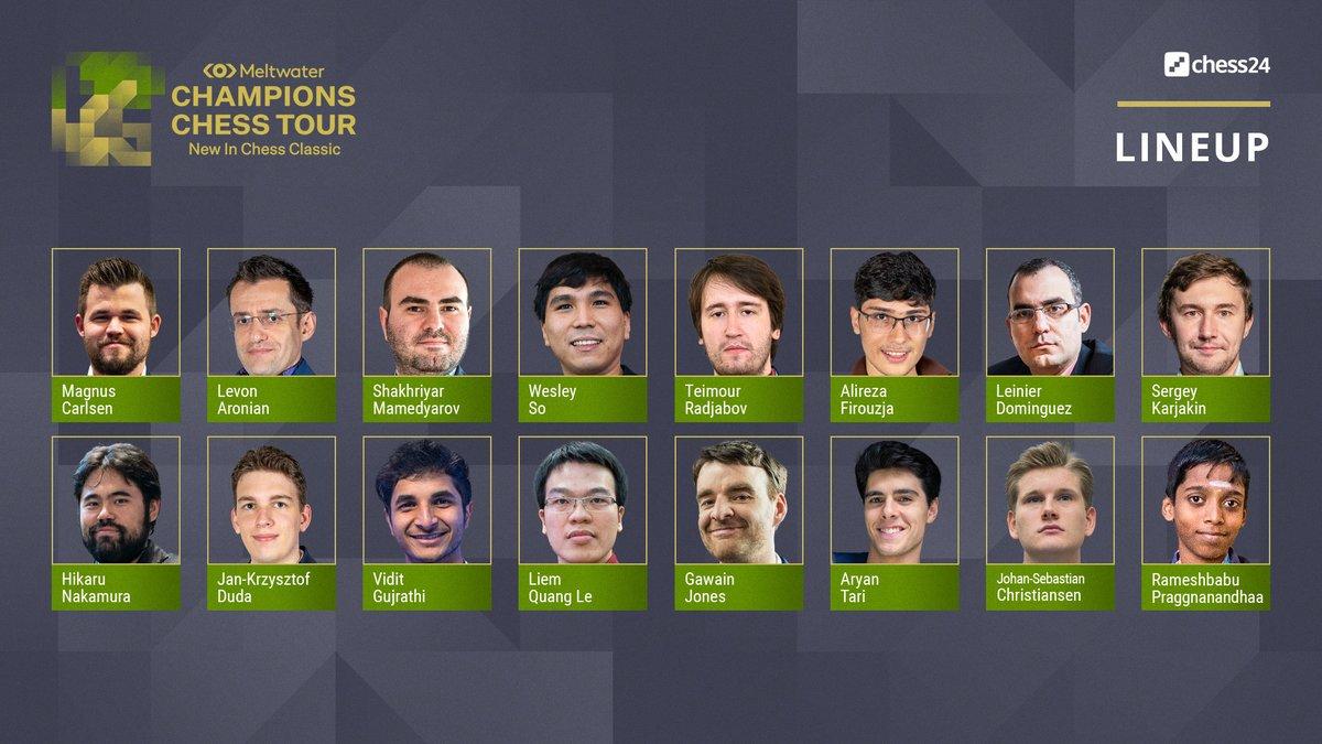 test Twitter Media - The #NewInChess Classic starts April 24th! https://t.co/HLDvObunkJ  @MagnusCarlsen  @LevAronian  @Shakhmamedyarov  So @rajachess  @AlirezaFirouzja  @chessleinier  @SergeyKaryakin  @GMHikaru  @GM_JKDuda  @viditchess  Le @GMGawain  @aryan_tari  @GMJSChr  @rpragchess   #ChessChamps https://t.co/RKvHj0zlE8