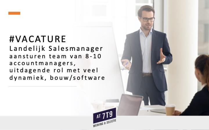 test Twitter Media - Mooie #vacature #salesmanager landelijk! Onze opdrachtgever is een internationale speler die zich snel ontwikkelt. Voor deze functie zoeken we een ervaren Salesmanager die minimaal affiniteit heeft met de #software en #bouw branche. https://t.co/cCpXApVxWG https://t.co/Wf2irYaAH9