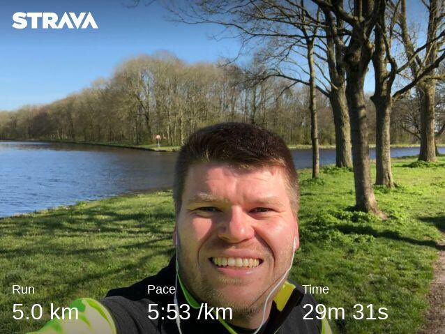 arjenmiedema_nl: Finished this years #bigdamrun. With my colleagues from @elgentos running remotely. #bdr2021 https://t.co/zdSXeTcEnp