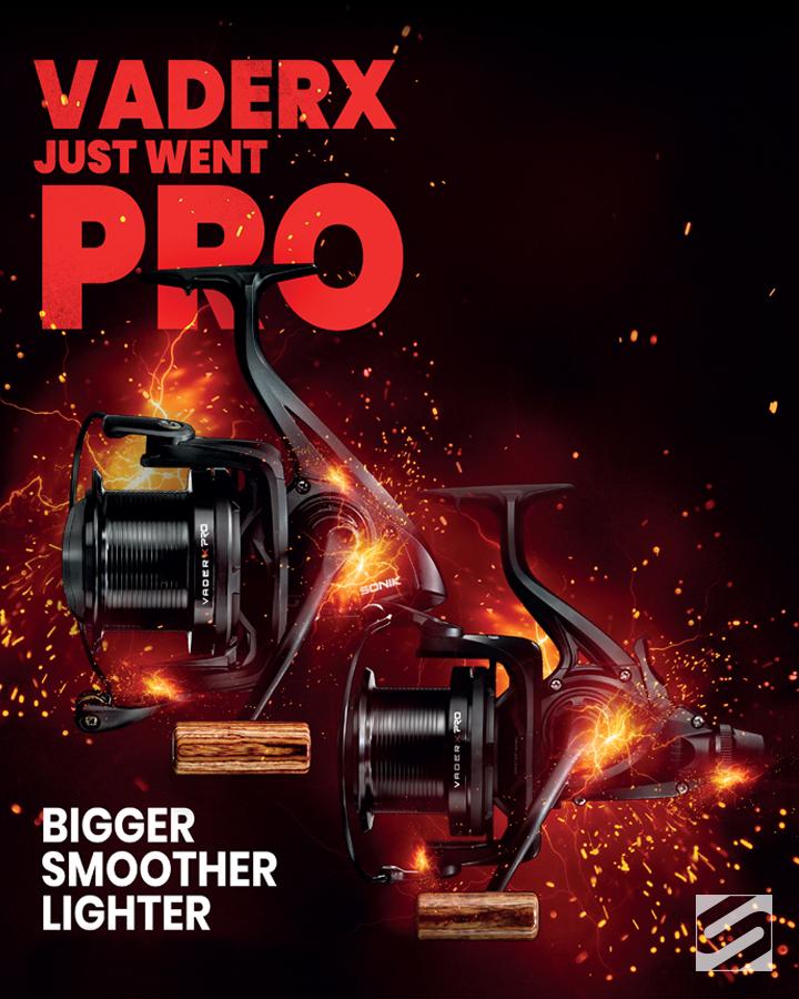 #Vaderx... Bigger, Smoother, Lighter #Sonik #Carpfishing #Pro 😎 https://t.co/RgIgXoZCD7