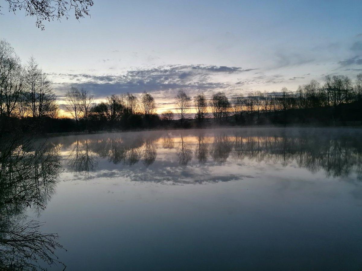 #beautiful #morning #sunrise #carpangling #carpfishing #commoncarp #mirrorcarp #nashtackle https://t