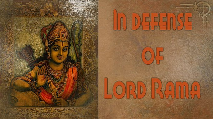 In defense of Lord Rama : HG Radhika Raman Prabhu (video)The Ramayana is one of the most moving ....