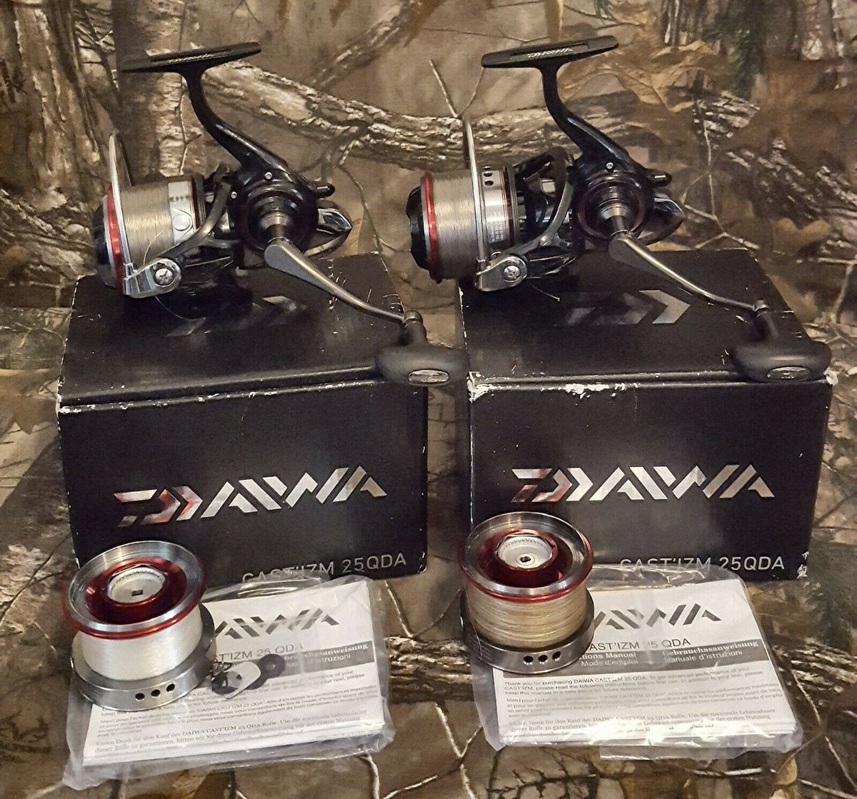 Ad - Daiwa Cast'izm 25QDA x2 On eBay here -->> https://t.co/bDxmxIthaE  #carpfishing #fishingt