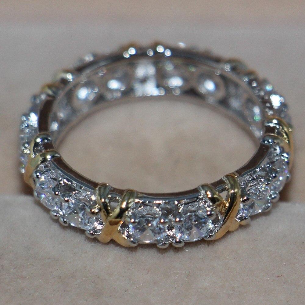 test Twitter Media - #chains Größe 5-11 Großhandel Marke Schmuck Handgemachte 925 sterling Silber gefüllt weiß gold Overlay 5A CZ Hochzeit Band Ring für Liebhaber geschenk https://t.co/tXoP8VAm5x https://t.co/u80Szzh9Oo
