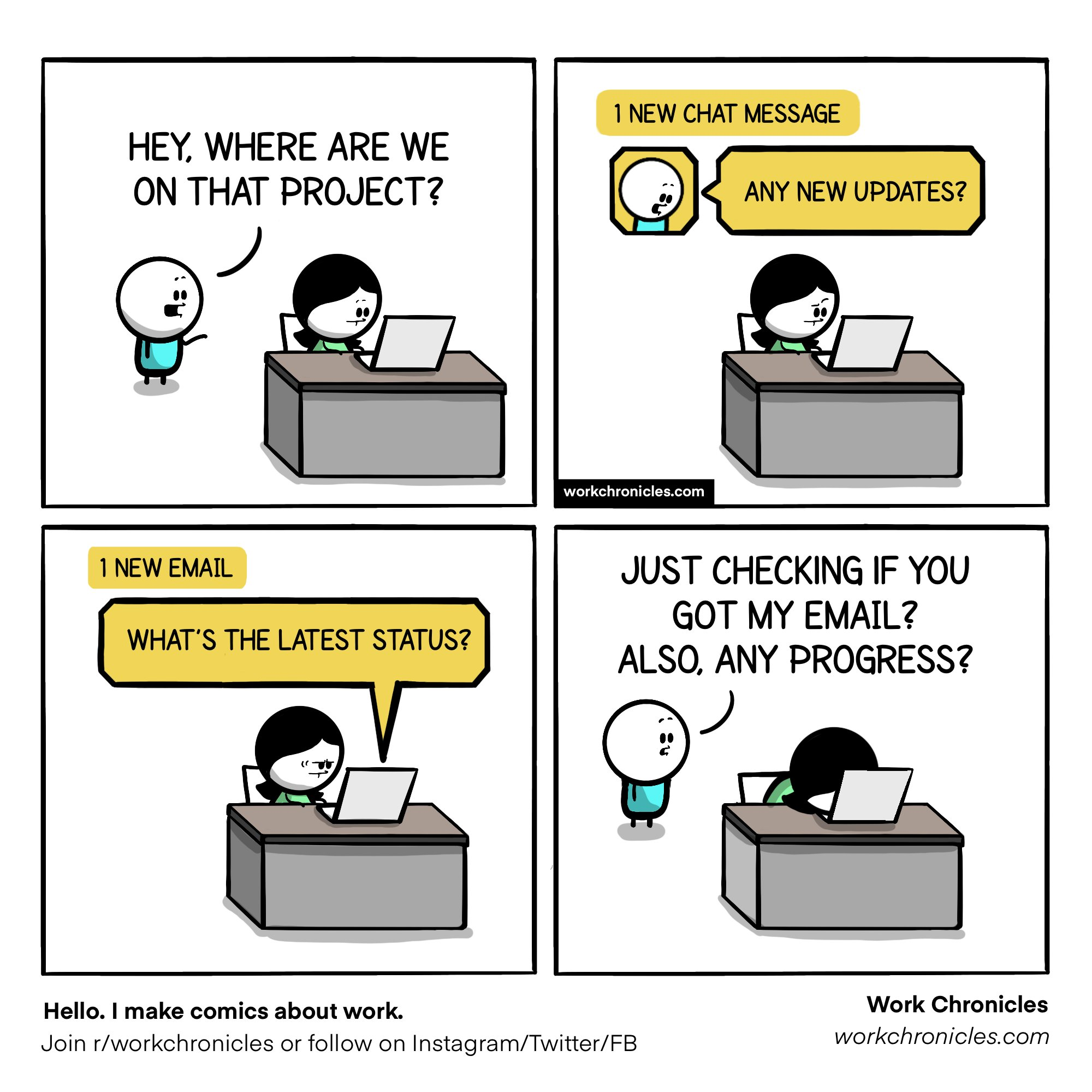 Follow up king bosses, can you relate?? 😃  Source ~ work chronicles... https://t.co/C7JxkT2HwK