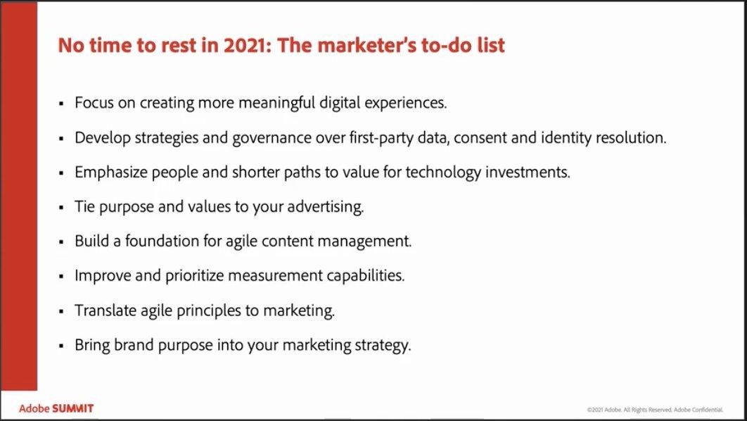 GoldieChan: Interesting marketing trends to keep in mind for this year and next! #digitalmarketing #AdobeSummit #AdobePartner https://t.co/sWnIduQEvK