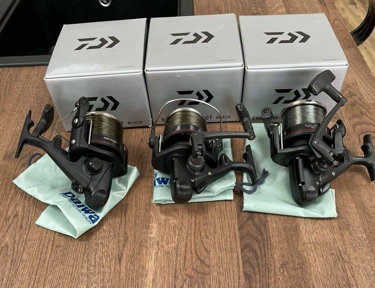 Ad - Daiwa Emblem X 5000T Black Carp Reels x3 On eBay here -->> https://t.co/lOMsRTFLcF  #carp
