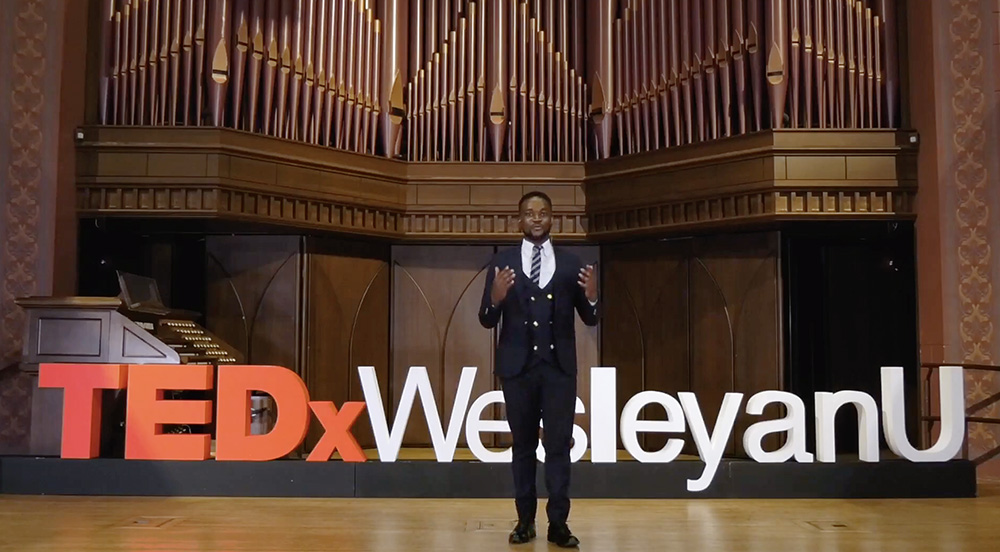 "test Twitter Media - Wesleyan students recently hosted the third annual TEDxWesleyanU conference on April 16-17. The TED event, entitled ""(Un)Knowing,"" was inspired by the unprecedented events of 2021 and the innovation and adaptation resulting from it.   https://t.co/9Y3NZyyvkA https://t.co/8FZ6FGi7AE"
