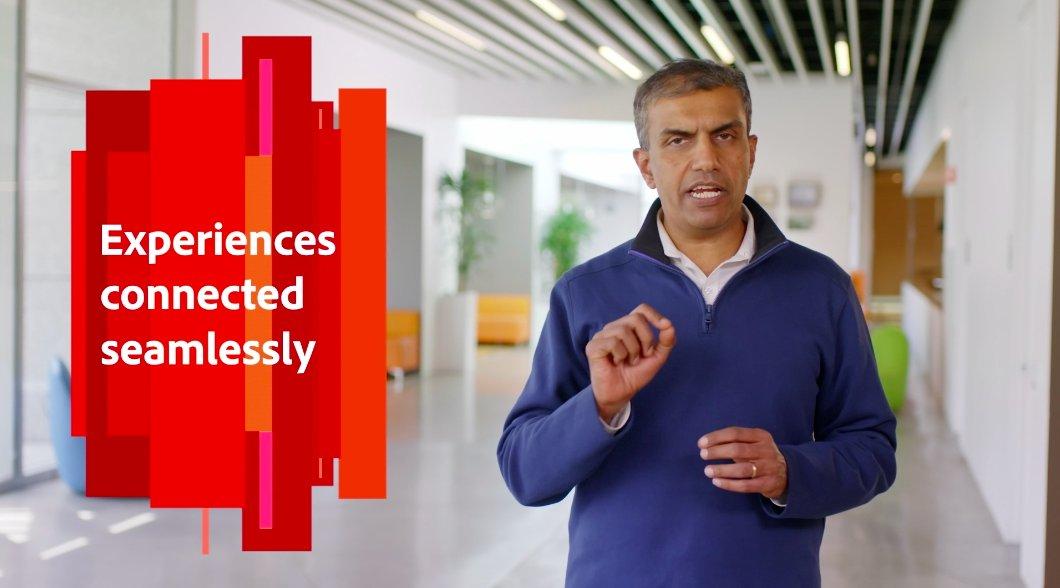 joeDmarti: 'The digitaleconomy runs on customer connections.' @achakravarthy12 nn#AdobeSummit https://t.co/uzAcHSgkOa