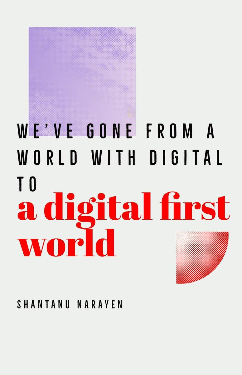 "meetspringhouse: ""We've gone from a world with digital to a digital first world."" #AdobeSummit #ShantanuNarayen https://t.co/UFkgVNvtMm"