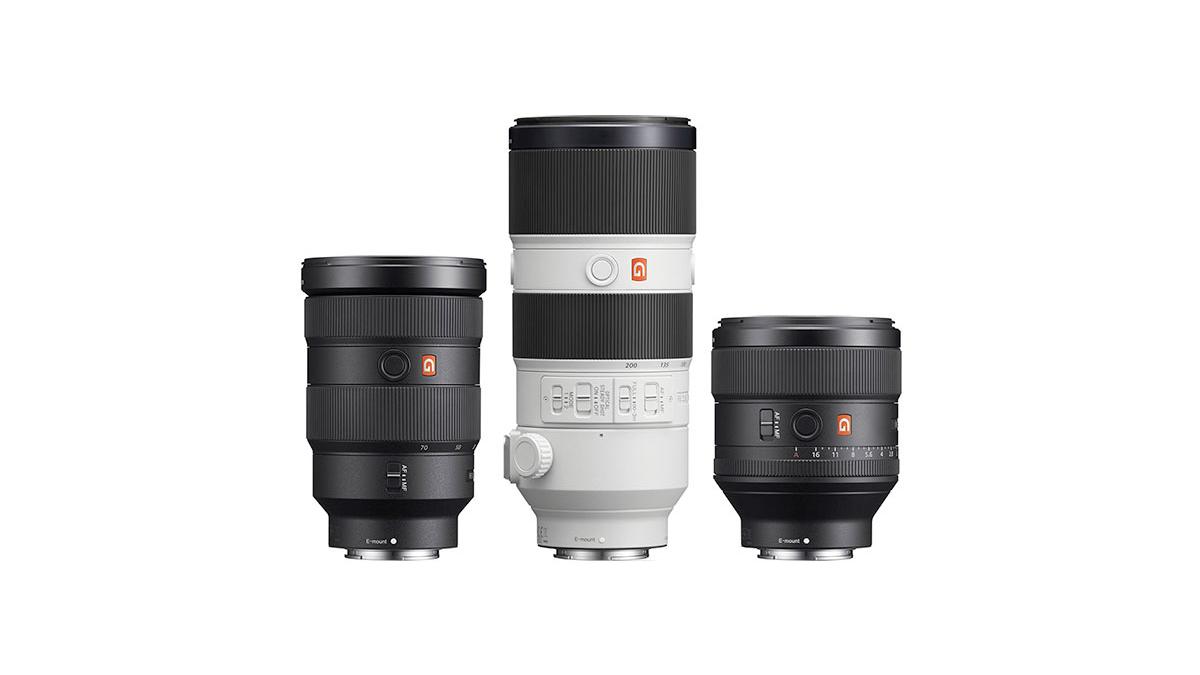 Discover Sony's range of G Master Lenses: