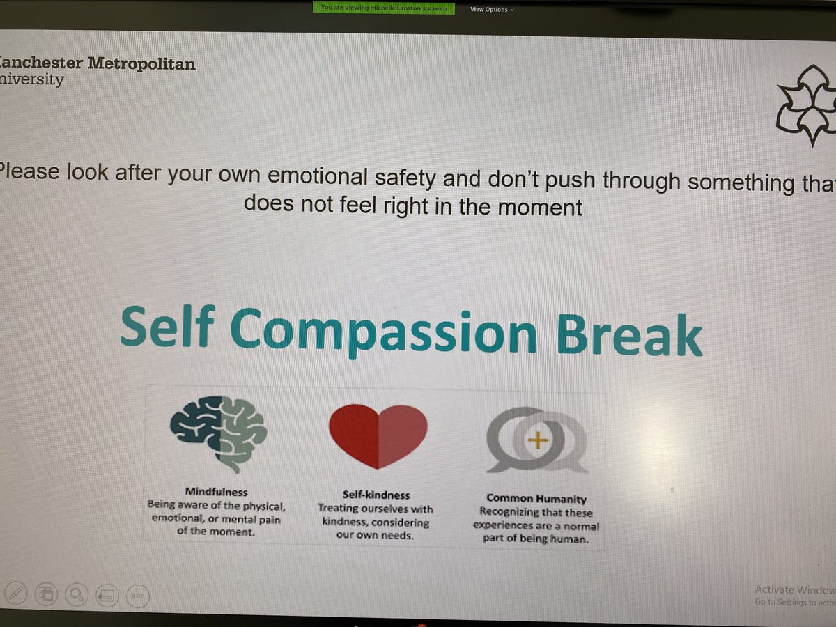 test Twitter Media -  @N4LTH  @janetscammell1 @Leslie_Gelling @AndrewesTanya @blueprintteach very much enjoyed my invitation to present @SigmaNursing especially our guided self compassion break! Thanks to @michellecroston https://t.co/FakuYYZGzR