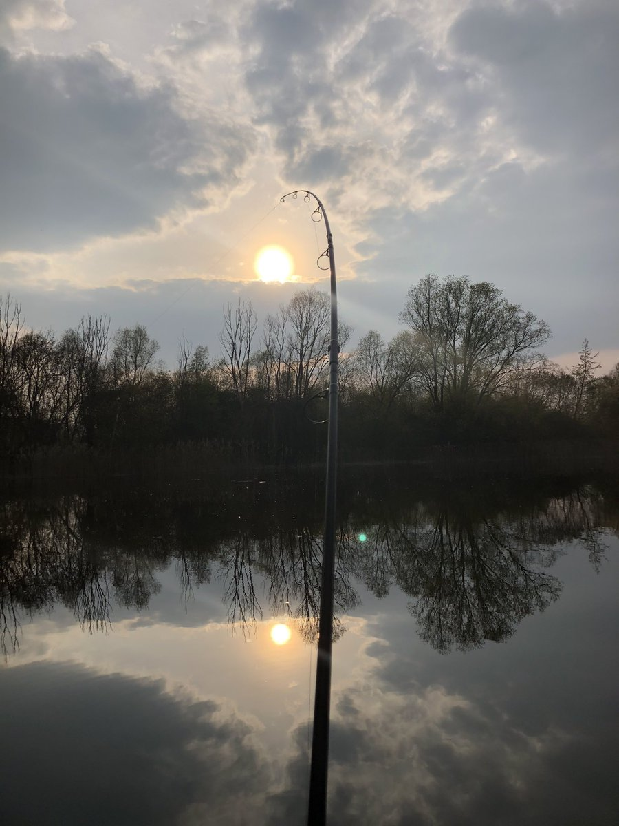 Fish on just as the sun is <b>Set</b>ting A Carpers Path Pacific Plum  https://t.co/22MmamEDaX  #car