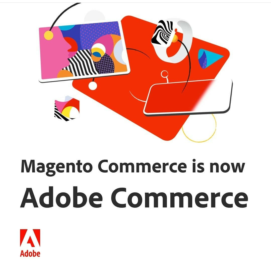DevanshShahD: #Magento Commerce is now officially renamed to #Adobe Commerce 🤝nnLots of emotions, #Magentofamily 🙌 #AdobeSummit https://t.co/dW5wFr5Rt1