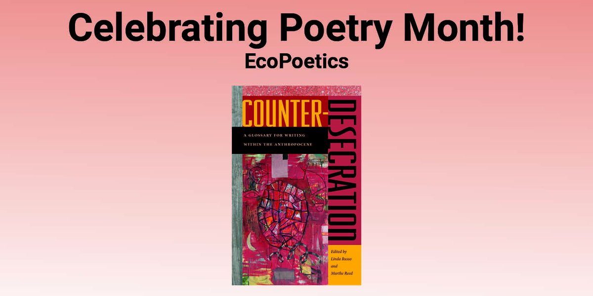 test Twitter Media - Celebrating Earth Day and Poetry Month!  #EcoPoetics #NaturePoems #CamilleDungy #EdRoberson #BrendaHillman #CounterDesecration #Antrhopocene  read more: https://t.co/DyH1rdG26y https://t.co/M9WDumLQ3F